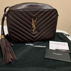 YSL Medium Lou Camera Leather Crossbody